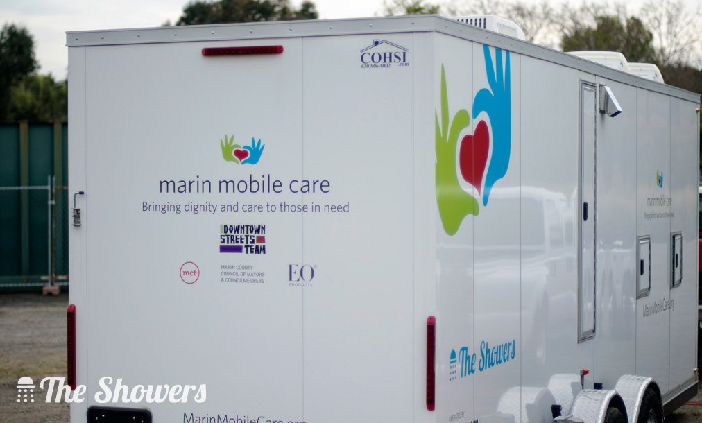 Marin Mobile Care proudly presents The Showers